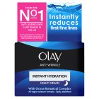 Olay Anti-wrinkle Instant Hydration Anti-ageing Moisturiser Night Cream - 50ml