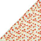 Waitrose Gift wrap ditsy flowers 2m roll - each
