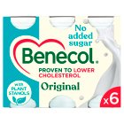 Benecol No Added Sugar Original - 6x67.5g