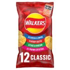 Walkers classic variety multipack crisps - 12x25g Brand Price Match - Checked Tesco.com 17/09/2014