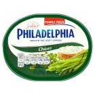 Philadelphia light chives - 300g Brand Price Match - Checked Tesco.com 16/04/2014