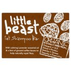 Little Beast Organic pet shampoo bar -