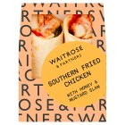 GOOD TO GO southern fried chicken wrap -