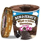 Ben & Jerry's what-a-lotta chocolate - 500ml Brand Price Match - Checked Tesco.com 03/02/2016