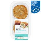 essential Waitrose 2 line caught smoked haddock fishcakes - 170g
