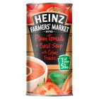 Heinz Farmers Market plum tomato & basil soup - 400g Brand Price Match - Checked Tesco.com 20/10/2014
