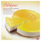 Indulgence lemon & masca cheesecake - 530g