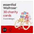 essential Waitrose charity cards - 30s