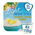 Müllerlight Greek style yogurt lemon - 4x120g Brand Price Match - Checked Tesco.com 26/08/2015