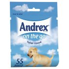 Andrex® on the go toilet tissue (pack of 55)