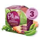 Plum adventures paella & salmon - 190g