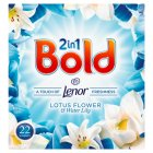 Bold 2in1 White Lily & Crystal Rain Washing Powder 22 washes - 1430g