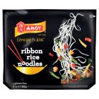 Amoy straight to wok ribbon rice noodles gluten free - 2x150g Brand Price Match - Checked Tesco.com 05/03/2014