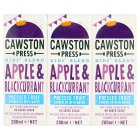 Cawston Press kids' blend apple & blackcurrant - 3x200ml