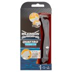 Wilkinson Sword, quattro titanium precision razor - each Brand Price Match - Checked Tesco.com 05/03/2014