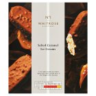 Waitrose 1 salted caramel ice creams - 3x100ml