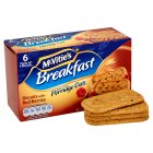 McVitie's breakfast red berries - 6x50g