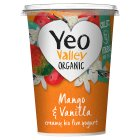 Yeo Valley mango & vanilla bio live yeogurt - 450g Brand Price Match - Checked Tesco.com 05/03/2014