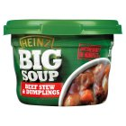 Heinz Big Soup beef stew & dumplings
