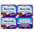 Philadelphia with Cadbury - 4x30g Brand Price Match - Checked Tesco.com 09/12/2013