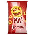 Hula Hoops puft salted - 6x15g Brand Price Match - Checked Tesco.com 29/07/2015