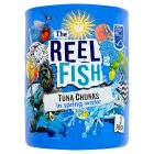The Reel Fish Co tuna in spring water - drained 3x112g