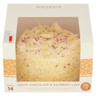 Waitrose White Chocolate Cake - 885g