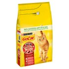 Go-Cat Crunchy & Tender Beef & Chicken - 1.5kg