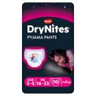 Drynites Pyjama Pants, Girl, age 3-5,16-23kg - 10s Brand Price Match - Checked Tesco.com 10/03/2014