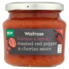 Waitrose roasted red pepper & chorizo sauce - 190g