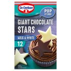 Dr.Oetker giant chocolate stars - 20g Brand Price Match - Checked Tesco.com 29/10/2014