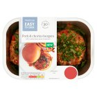 Easy To Cook Pork & Chorizo Burgers - 354g