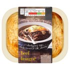 menu from Waitrose Beef lasagne - 400g