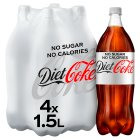 Diet Coke - 4x1.5litre