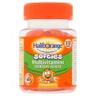 Kids multivitamin fruit softies orange - 30s