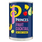 Princes fruit cocktail in syrup - drained 247g Brand Price Match - Checked Tesco.com 23/07/2014