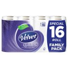 Velvet quilted family pack - 16x165 sheets Brand Price Match - Checked Tesco.com 22/07/2015