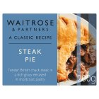 Waitrose steak pie - 210g