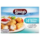 Young's 14 fish fillet bites - 250g