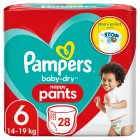 Pampers Baby-Dry Pants Size 6 - 32s