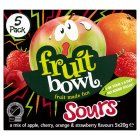 Fruit Bowl fruit sours - 5x20g