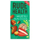 Rude health just nuts crunchy muesli - 450g