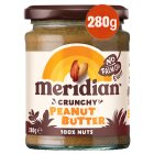 Meridian Crunchy Peanut Butter - 280g Brand Price Match - Checked Tesco.com 27/04/2016