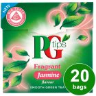 PG Tips fragrant jasmine green tea 20 bags - 28g