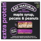 Eat Natural Maple Syrup Pecans Peanuts - 3x45g