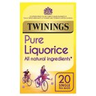 Twinings liquorice 20 teabags - 40g Brand Price Match - Checked Tesco.com 23/07/2014