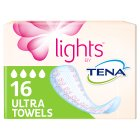 Lights by Tena Ultra Towels - 16s