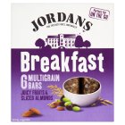 Jordans Breakfast multigrain bars fruits & almond - 6x40g