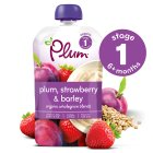 Plum strawberry & barley - 100g Brand Price Match - Checked Tesco.com 21/04/2014