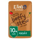 Ella's Kitchen Organic wonderfully warming beef stew with spuds - stage 3 baby food - 190g Brand Price Match - Checked Tesco.com 16/07/2014